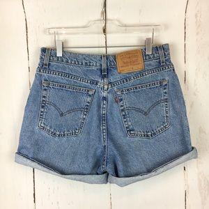 Levi's 550 | Denim Mom Shorts